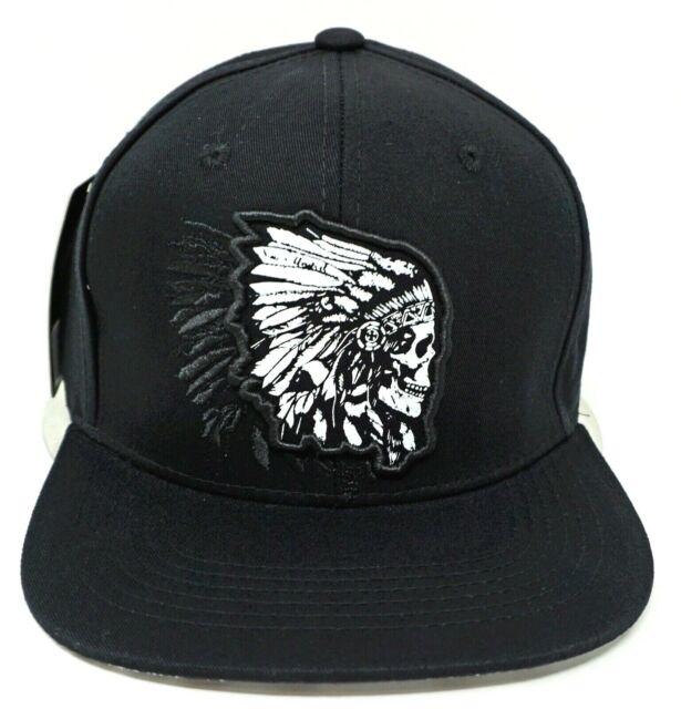 0ad06ac81f9 True Heads Native American Chief / Indian Snapback Baseball Cap for sale  online   eBay