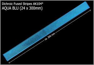 Dichroytische-Glasstreifen-AQUA-BLU-ca-24-x-300mm-Fused-Stripes-COE104