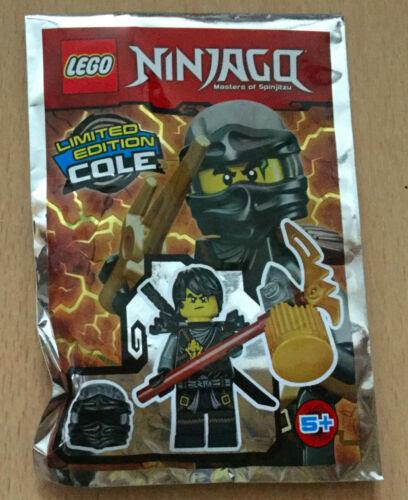 SACHET POLYBAG LEGO MINIFIGURE FIGURINE NINJA NINJAGO NEUF COLE MARTEAU V3