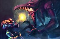 Samus Metroid Amazing - Wall Poster - 34 In X 22 In - Fast Shipping