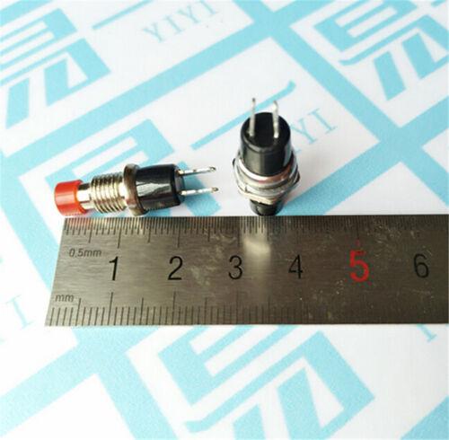 10ST//Set 7mm Faden multicolor 2 Pins Taster  X   sp