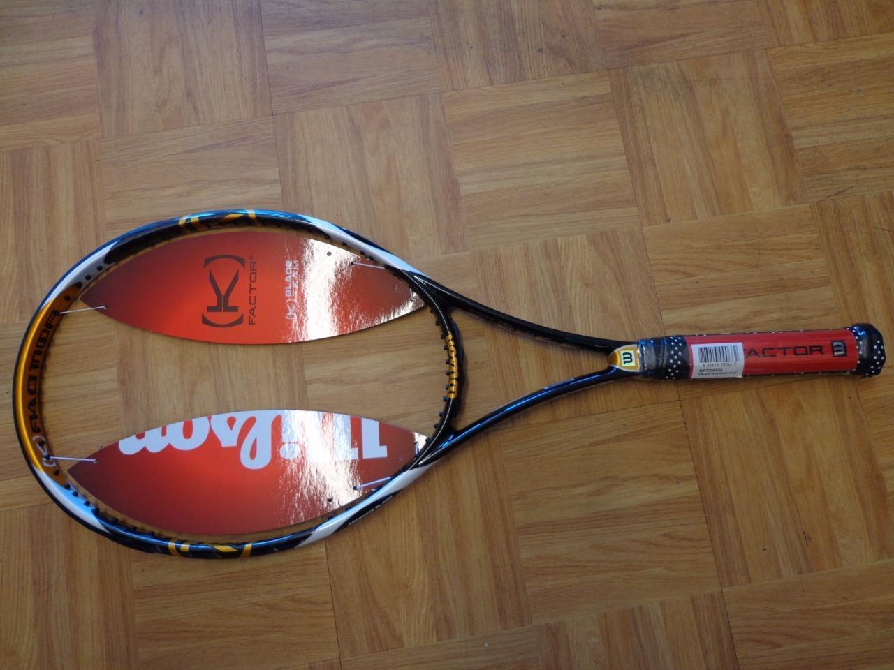 Nuevo Raro Wilson K Factor Blade 104 Funda 4 1 2 Grip Tenis Raqueta