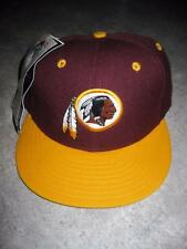Vintage New Era Washington Redskins Dead Stock Fitted Hat Cap 6 7/8  With Tags
