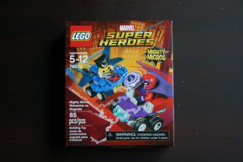 Wolverine vs Magneto 76073 NEW /& SEALED LEGO Marvel Super Heroes Mighty Micros