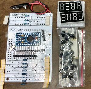 KIM Uno MOS KIM-1 Clone DIY KIT Apple I Cosmac ELF 6502 - **FULL SBC KIT**