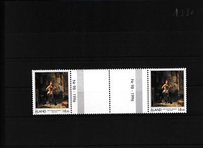 Aland 116 Süß GehäRtet Finnland Postfrisch Zwischenstegpaar Moderne Techniken kompl.ausg.