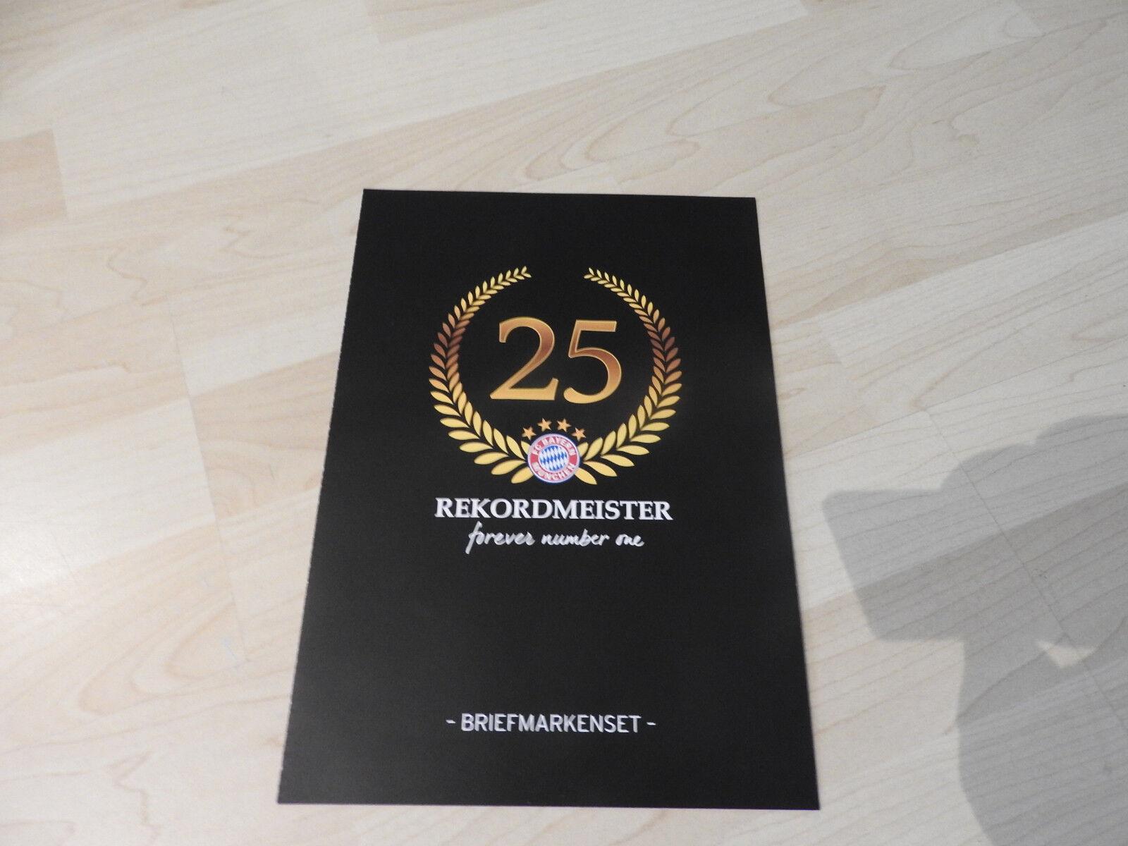Bayern München 25 Rekordmeister  Briefmarke Deutsche Post,      Kostengünstig  620f04