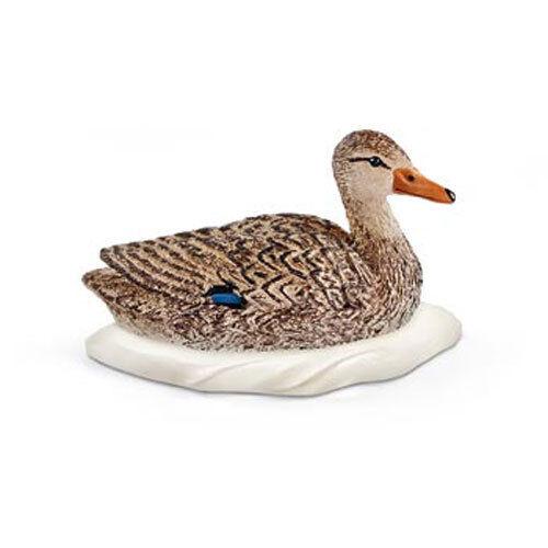 Duck Schleich Bird Waterfowl Animal Toy Figure NEW model # 13823