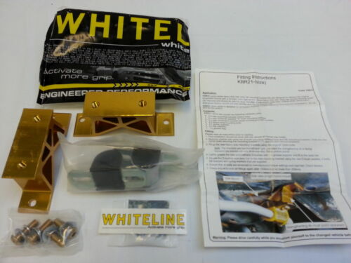 Whiteline Heavy Duty Rear Swaybar Mount Kit 24mm Subaru WRX STI FXT KBR21-24