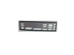 i//o shield plaque arriere en PLA pour GIGABYTE GA-F2A88XM-HD3 REV 3.2