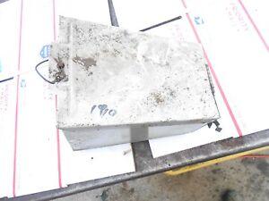 1980 Skidoo 500 L/C Everest Electro: METAL TOOL BOX