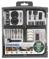 Dremel 709-02 110-piece All-purpose Rotary Accessory Kit , New, Free Shipping on sale