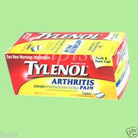 Tylenol Arthritis 3 Bottles X 290 Caplets 650 Mg Pain Reliever Acetaminophen