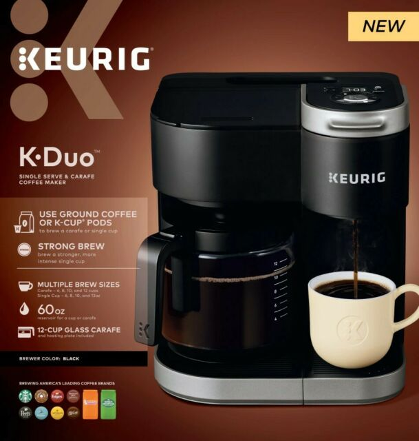 Keurig K-Duo Essentials 12 Cup Coffee Maker - Black | eBay