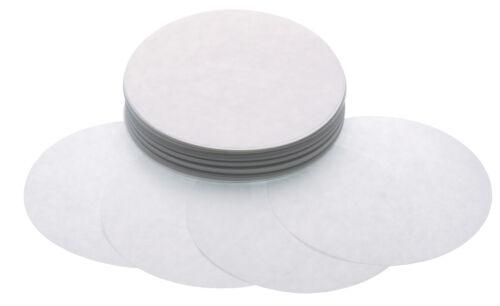 250 de Rechange 11cm Cire Papier Disques pour Grand Quart Livre Hamburger Presse