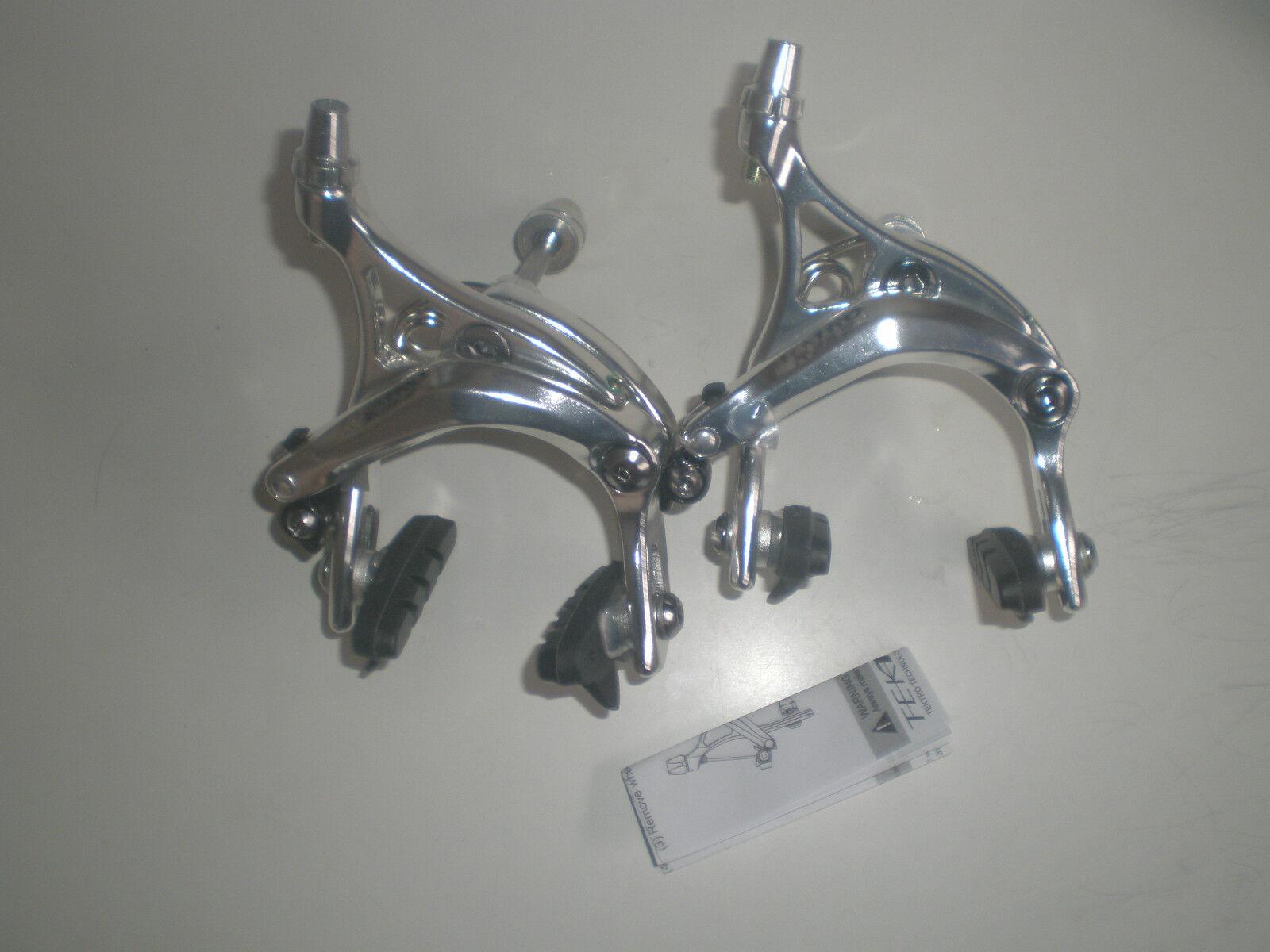 Tektro R359 long drop dual pivot allen key brakes 47-57mm  front/rear pair