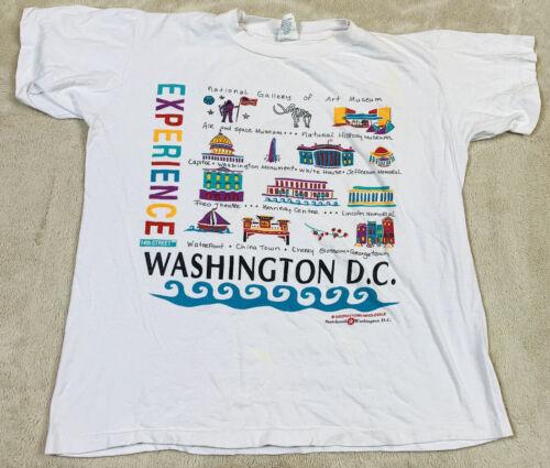 VTG 90's Washington DC Experience 14th Street T-Sh