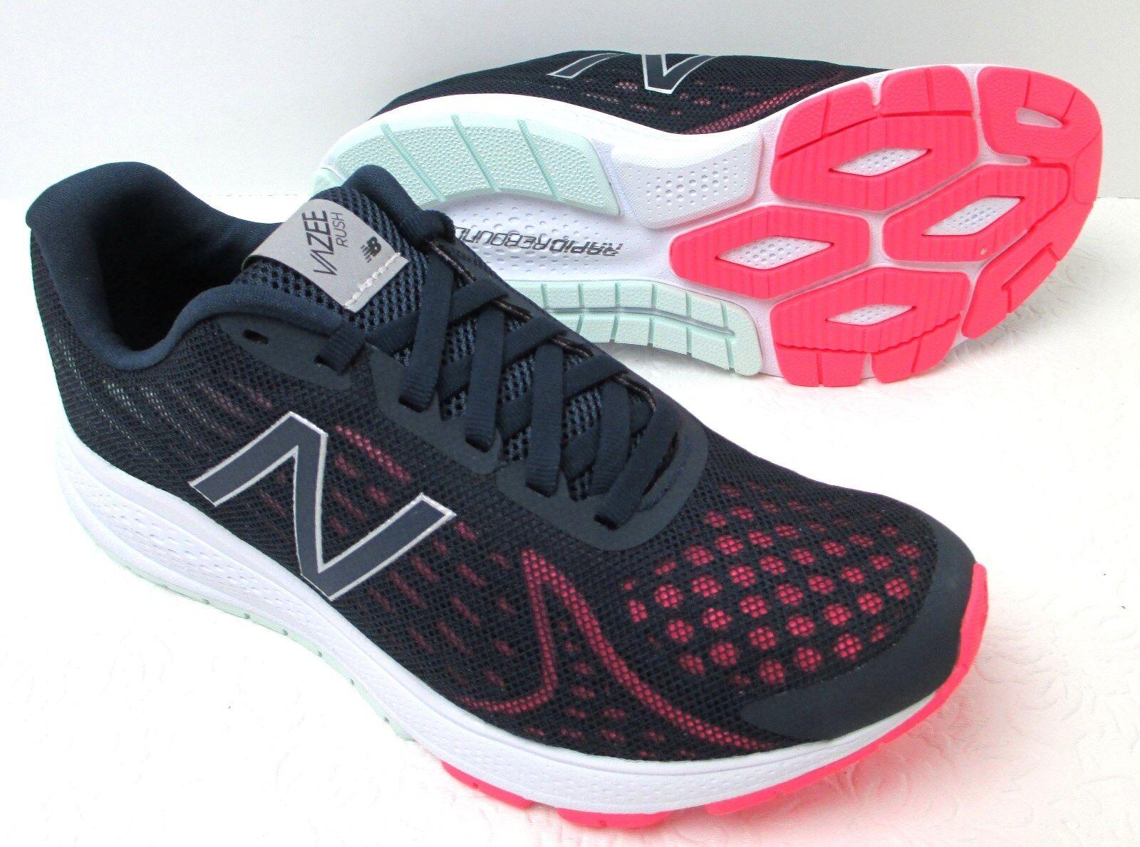 Women's New Balance Vazee WRUSHBP2 Navy Pink Running Sneaker shoes
