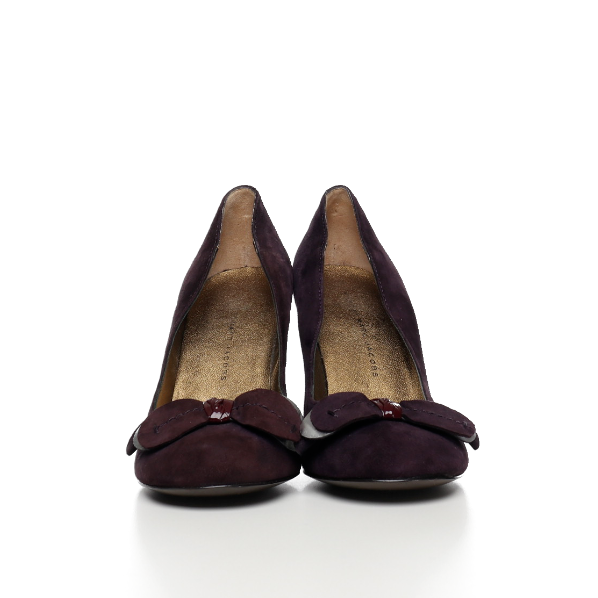 NEU  Pumps - Marc Jacobs - Velour - aubergine - Gr. 37