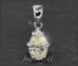 Weissgold-Anhaenger-mit-1ct-Diamant-Tropfen