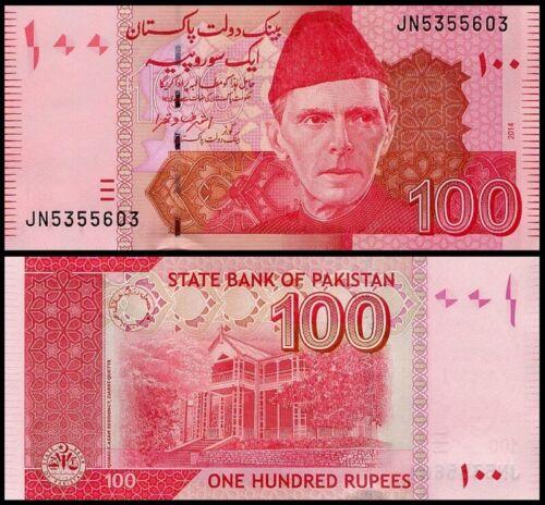 UNC PAKISTAN 100 Rupees 2014 Pick 48i 2