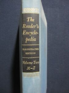 The-Reader-039-s-Encyclopedia-Volume-Two-M-Z-Hardcover-Jan-01-1965-Benet-Wil