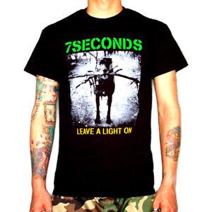 7-SECONDS-Shirt-S-M-L-XL-Minor-Threat-Dag-Nasty-H2O-Gorilla-Biscuits-Insted-SXE