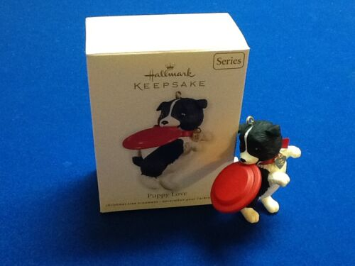 2012 Hallmark Keepsake Christmas ornament in original box Puppy Love New