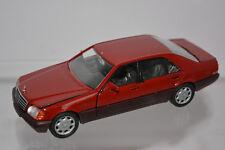 Mercedes 600 SEL 1:43 Schabak 1260 Rarität Sammlermodell Originalverpackung NEU