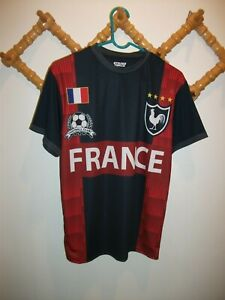 size 40 94055 010da Details about New France French National Soccer Football Team Jersey Shirt  Top Mens M