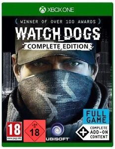Xbox One Spiel Watchdogs 1 Watch Dogs Complete Edition inkl. aller DLC´s NEUWARE