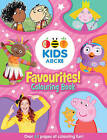 ABC Kids Favourites! Colouring Book (Pink) by ABC (Paperback, 2016)