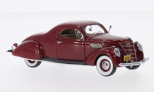 Lincoln Zephyr Coupé  Dark Red 1937 (Neo Scale 1 43   45750)
