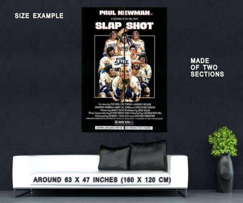 65797 Slap Shot Movie Paul man Allan Nicholls Wall Print POSTER CA