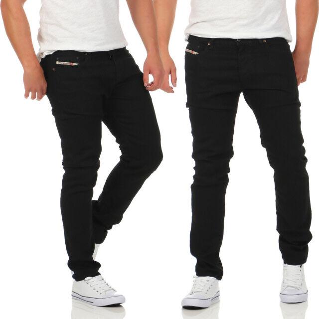 e54797e8 Diesel Jeans Tepphar 0886z Men's Trousers Slim Carrot Black Skinny Jeans New