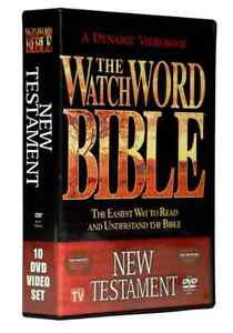 WatchWord Bible- Watch Word 10-DVD New Testament Video Bible.