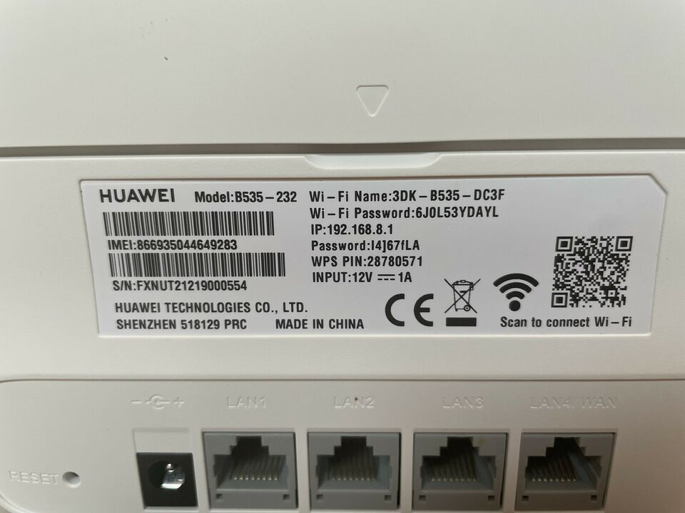 Router, wireless, Huawei