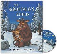 NEW  the GRUFFALO'S CHILD book with CD by Julia Donaldson  Gruffalos