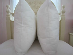 Decorative Pillow Form Sizes : New Pillow Insert Form - Square Oblong Rectangle & Euro- ALL SIZES!! Made in USA