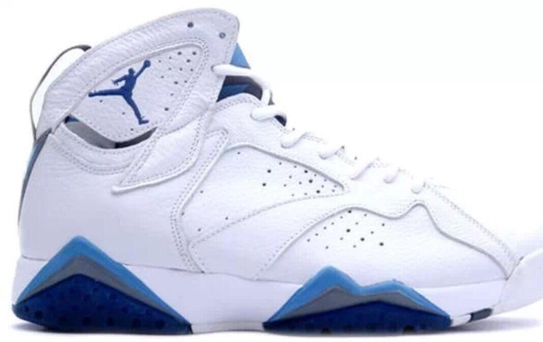 Nike air blu jordan 7 retro francese blu air ds 48 rimasterizzato 2015 7a0170