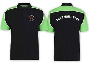 Darts Team Polo Shirt With Customised