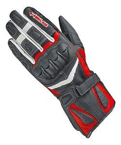 Gant-de-moto-Held-Myra-LADY-couleur-noire-blanc-Rouge-Taille-6