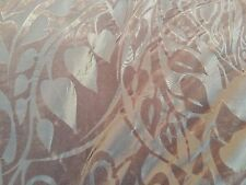 Mirage Velvet Flock Taffeta Upholstery Curtain Cushion Dress Table Runner Fabric