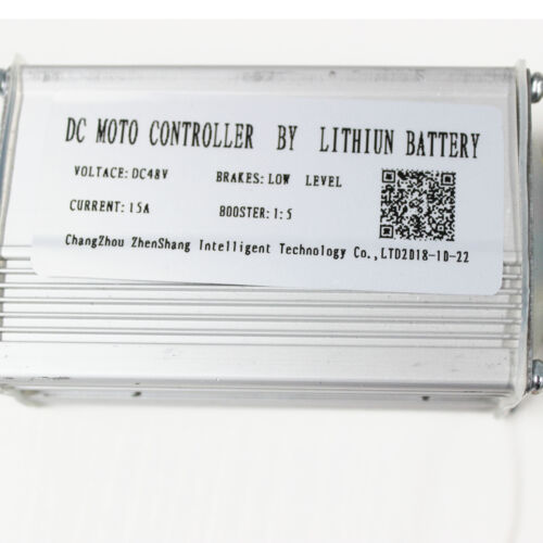 48V 250W Brushless Motor Controller w// Reverse Electric Bike E-Tricycle