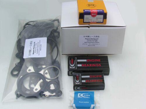 JDM Nippon Racing Honda Civic B16A Pistons Racing Engine KIT B16A HOT