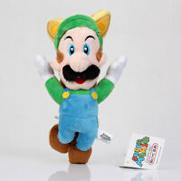Super Mario Bros Flying Fox Kitsune Luigi Stuffed Plush Doll Toy 9 inch Gift