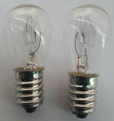 220V 15W E17 Nähmaschine Glühbirne für Singer 15-30 15-88 15-90 27 Kühlschrank