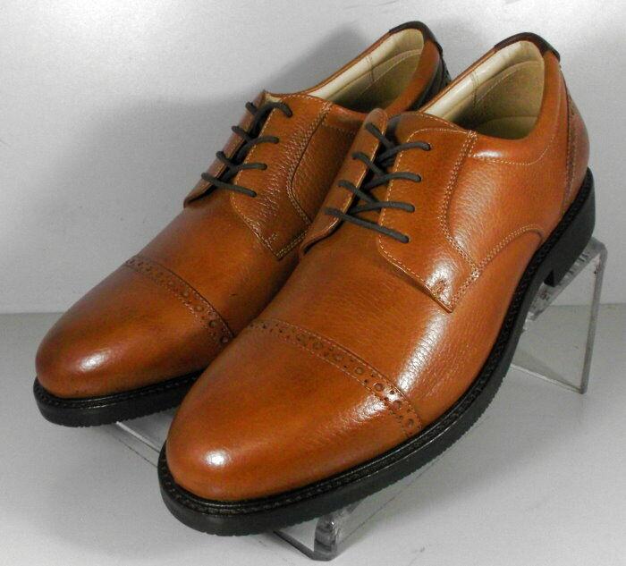 592876 SP50 Men's Shoes Size 9 M Tan Leather Lace Up Johnston & Murphy