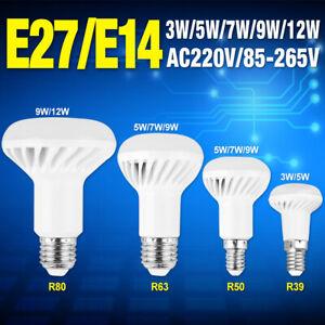 E14-E27-LED-Lampen-Leuchtmittel-5730SMD-Reflektor-Leucht-Licht-Birne-3-12W-220V