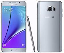 Plata - Samsung Galaxy Note 5 Duos SM-N9200 Móviles Libres 32GB Dual SIM 4G LTE